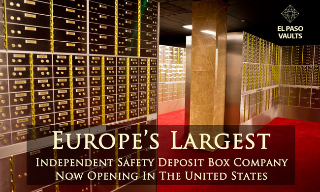 SAFETY DEPOSIT BOX FACILITY EL PASO VAULTS